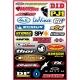 Factory Effex Sponsor Kit B Sticker Sheet