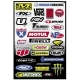 Factory Effex Sponsor Kit C Sticker Sheet